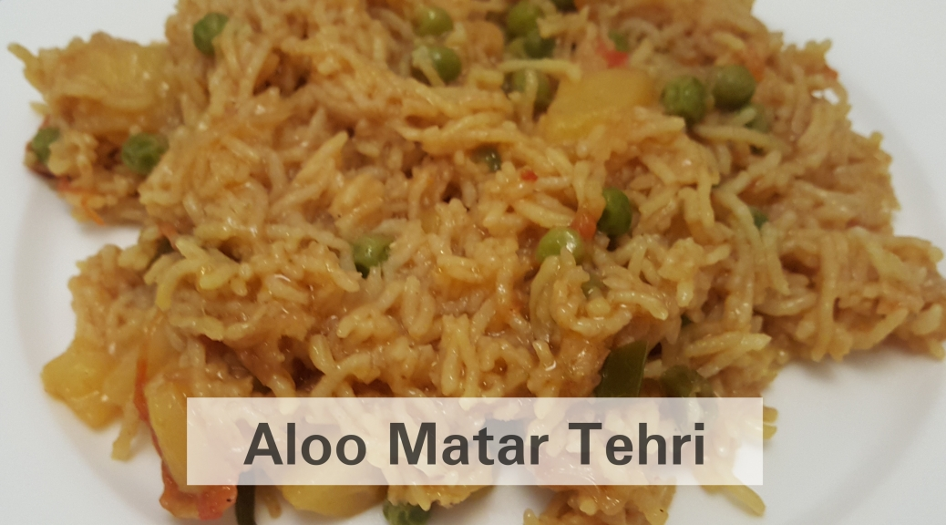 Aloo Matar Tehri Image